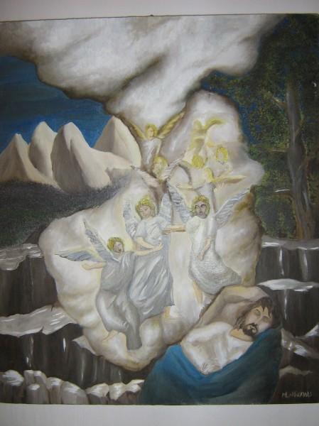 Picturi religioase Scara lui iacob