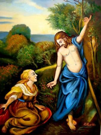 """Picturi religioase Iisus si Maria Magdalena 1"""" Nu ma atinge"""""""