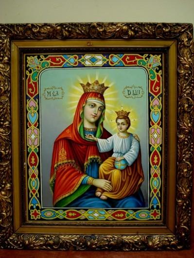 Picturi religioase Maica domnului cu domnul iisus