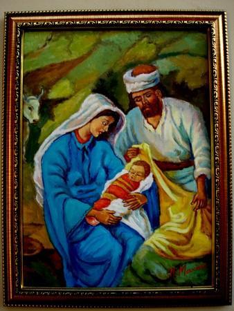 Picturi religioase Tablou Sfanta Familie1