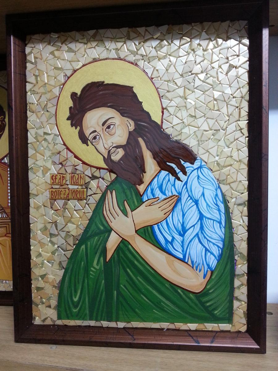 Picturi religioase Sf Ioan Botezatorul.