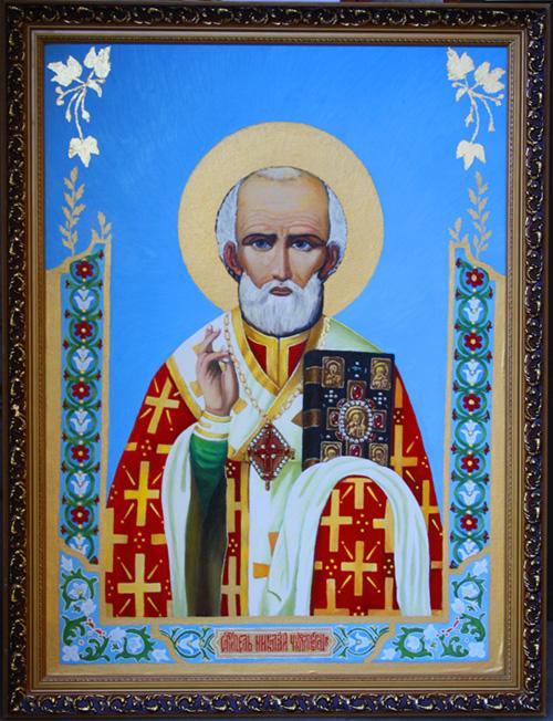 Picturi religioase Icoana Sfantului Nicolae