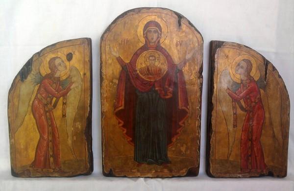 Picturi religioase Maica d-lui  oranta