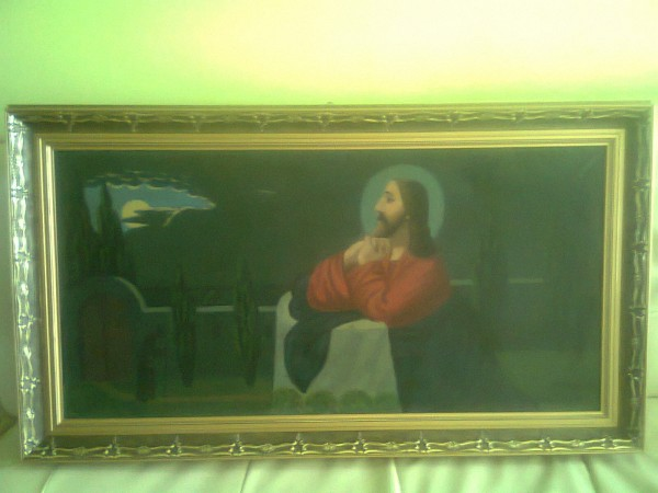 Picturi religioase Isus in gradina ghetsimani