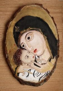Picturi religioase Maica domnului si pruncul
