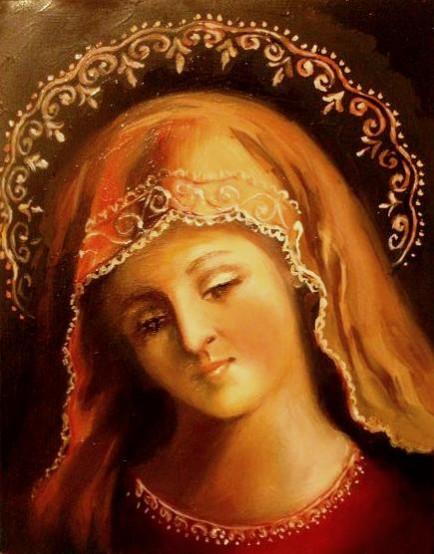 Picturi religioase Sf maria
