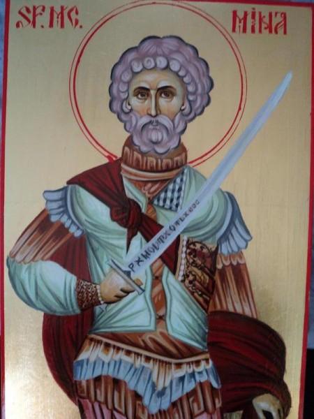 Picturi religioase Sf. mina