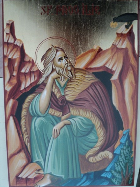 Picturi religioase Sf. proo. ilie