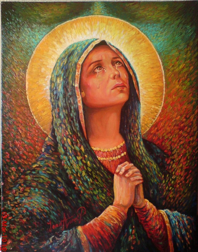 Picturi religioase maria 2