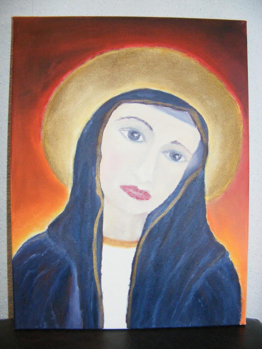 Picturi religioase Fecioara Maria 1