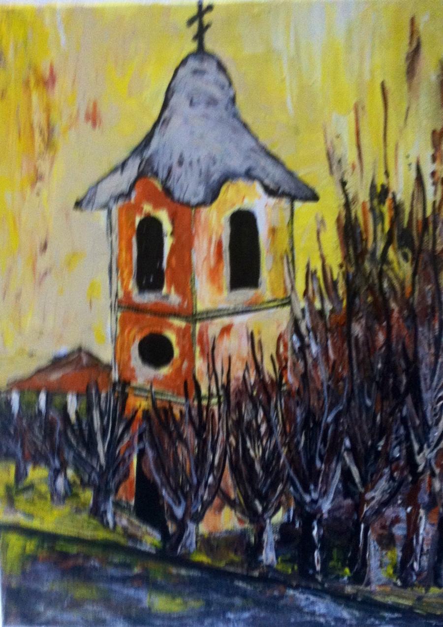 Picturi religioase La turn