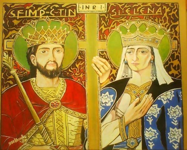 Picturi religioase Constantin si elena