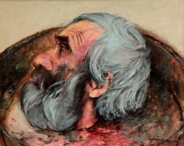 Picturi religioase Capul sf. ioan botezatorul