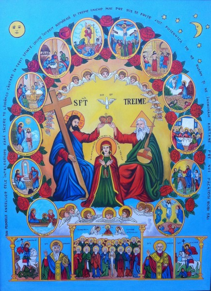 Picturi religioase Sfanta treime