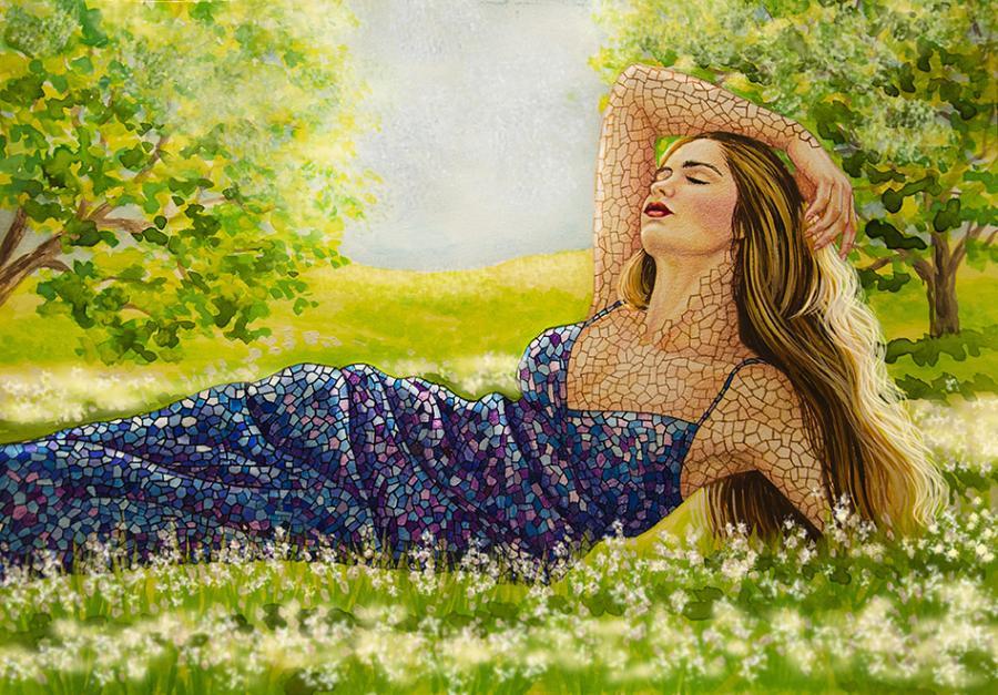 Picturi surrealism În razele soarelui