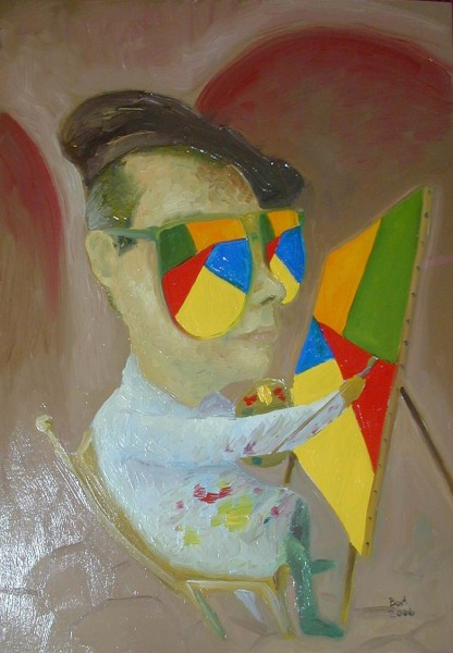 Picturi surrealism Autoportret boa