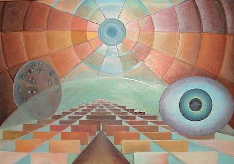 Picturi surrealism calatorie in timp