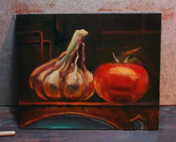 Picturi surrealism Legume steampunk