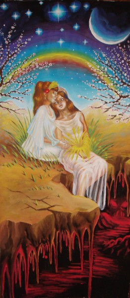 Picturi surrealism Demetra si kore