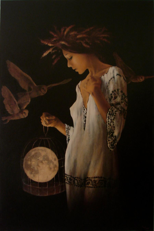 Picturi surrealism noapte