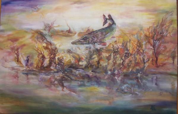 Picturi surrealism Visul din juvelnic