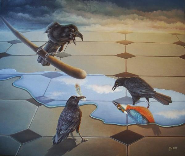 Picturi surrealism Controversy
