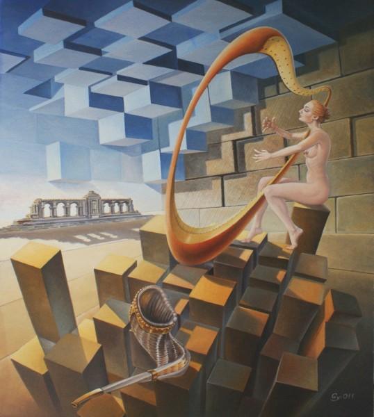 Picturi surrealism Jericho echo