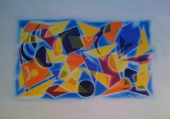 Picturi surrealism Geometrie