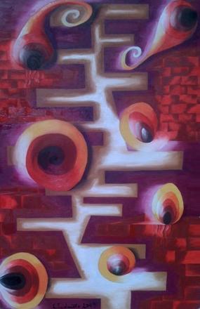 Picturi surrealism Labirint