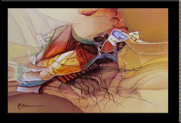 Picturi surrealism  nava spatiala--181