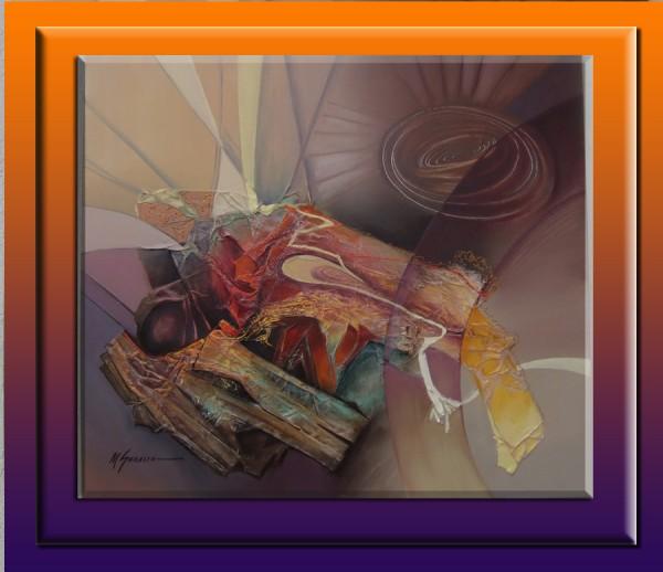 Picturi surrealism Altarul zeilor--130