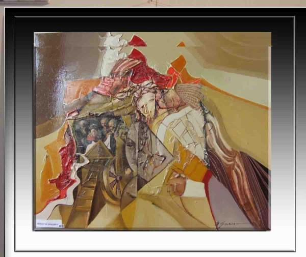 Picturi surrealism Fiinte astrale------50