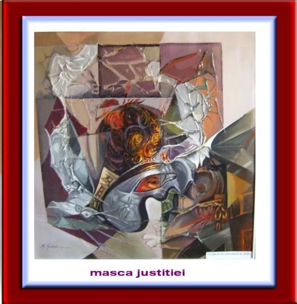 Picturi surrealism Masca justitiei--206