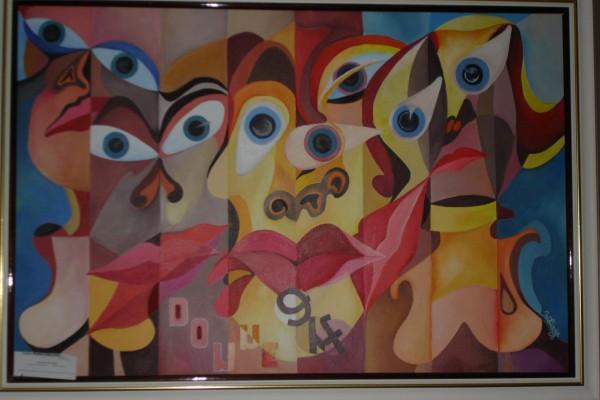 Picturi surrealism Donne art
