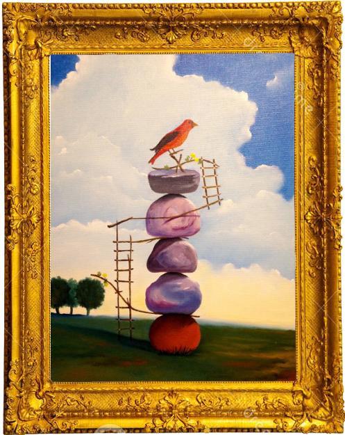 Picturi surrealism Culmea