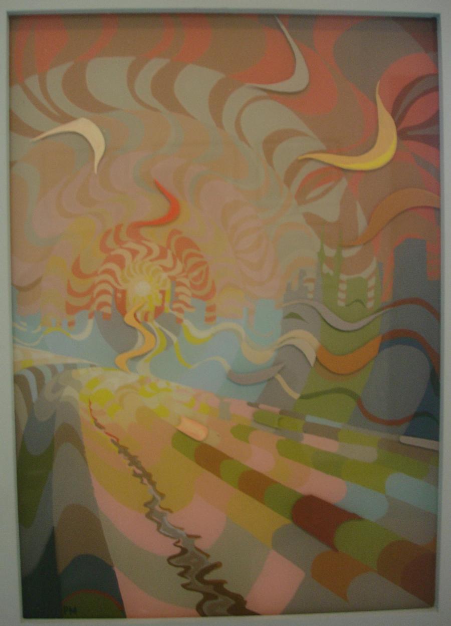 Picturi surrealism Drumul spre Niciunde