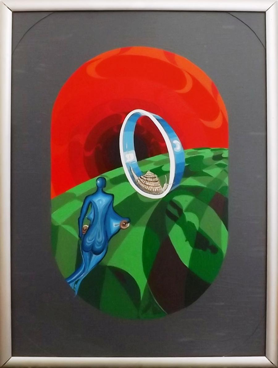 Picturi surrealism Mars intr-o Verigheta