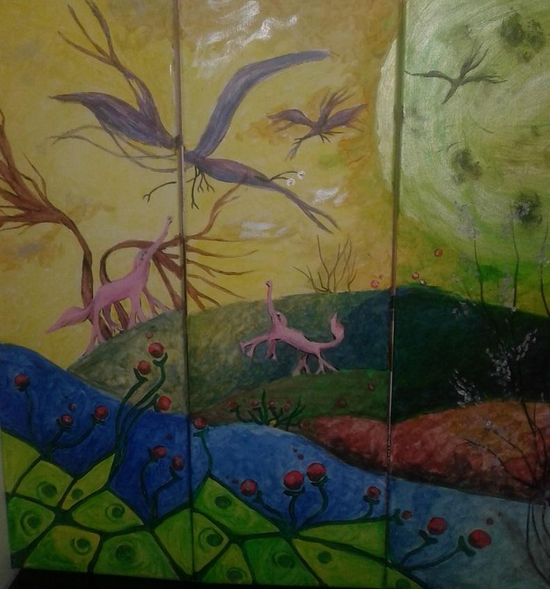 Picturi surrealism peisaj imaginar