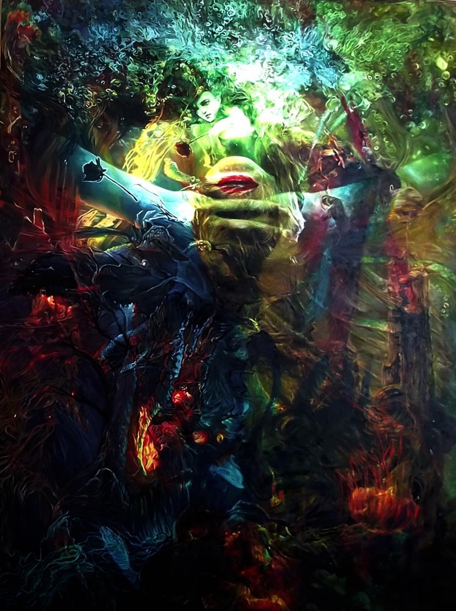 Picturi surrealism Underworld