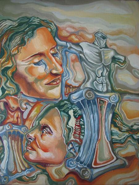 Picturi surrealism Tablou suprarealist