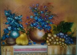 alte Picturi flori de camp cu natura moa