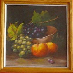 alte Picturi natura statica cu fructe de toamna