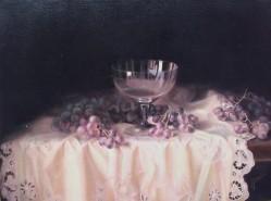alte Picturi Natura statica  cu pahar