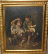 alte Picturi Copii mancand fructe