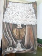 alte Picturi Lampa cu trandafiri