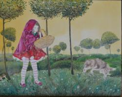 alte Picturi Red riding hood