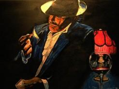 alte Picturi The smoking man