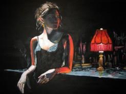 alte Picturi The smoking woman