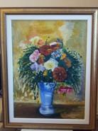 alte Picturi Flori in vas bleu
