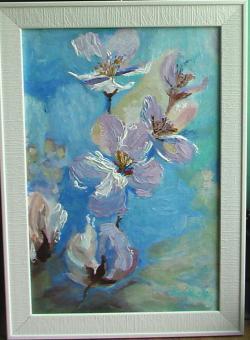 alte Picturi Ramura cu flori  de mar